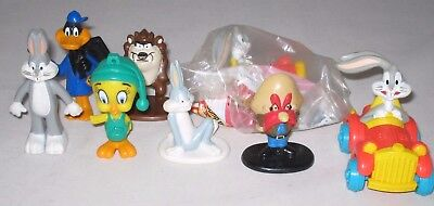 8 Loony Toons Action Figures/Toys Warner Brothers