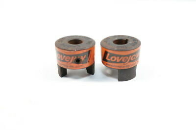 2x Lovejoy 10421 L-070 Jaw Coupling 1/2in