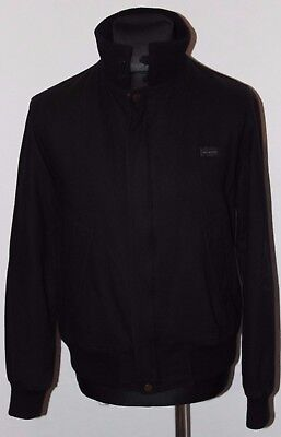 Paul and shark Yachting Mens vintage black wool jacket size S small