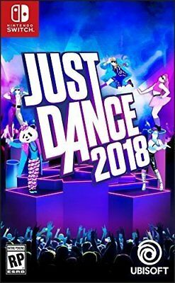 Just Dance 2018 for Nintendo Switch Console Brand New Ships Fast !!!