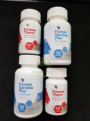 Forever Living Garcinia Plus & Therm -  C9 Clean 9 Diet Supplements Weight Loss