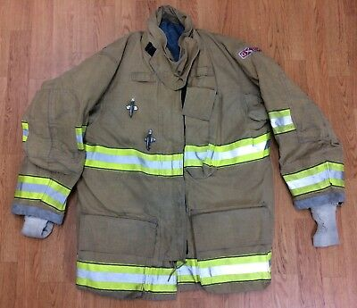 Globe GXtreme Fire Fighter Bunker Turnout Jacket w/ DRD 42 Chest x 32 Length '07