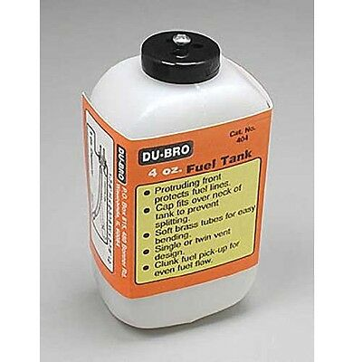 Dubro 404 S4 Square Airplane Fuel Tank 4 oz