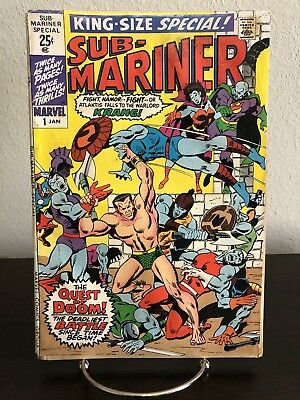 SUB-MARINER KING-SIZE SPECIAL #1 - Lots of Pics!