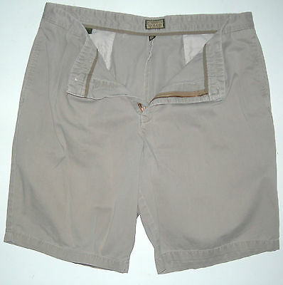 Mens 40 Dockers Authentics Genuine Khakis Standard Fit Cotton Shorts