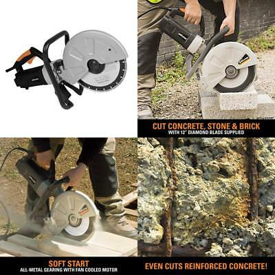Cutter Concrete Saw Cut Masonry Construction Tool Electric Brick Blocks Circular