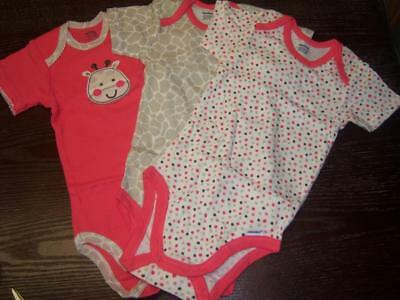 New Single Gerber Girl's Onesies, Baby Shower, 6-9 Months