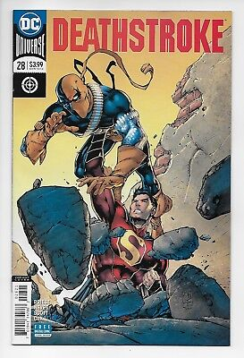 Deathstroke #28 - Rebirth Variant Cover (DC, 2018) - New/Unread (NM)
