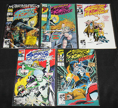 Marvel GHOST RIDER BLAZE SPIRITS OF VENGEANCE 23pc Comic Lot Grade VF NM