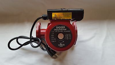3 speed Circulating Pump with Cord 34 GPM to use with outdoor furnaces, hot wate