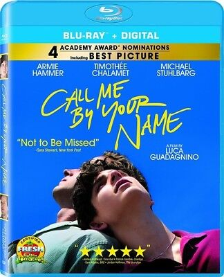 Call Me By Your Name [New Blu-ray]