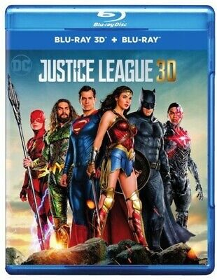 Justice League [New Blu-ray 3D] Manufactured On Demand, With Blu-Ray, Digitall