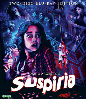 Dario Argento's Suspiria [New Blu-ray] 2 Pack, Widescreen