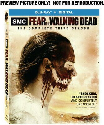 Fear the Walking Dead: The Complete Third Season [New Blu-ray] Boxed Set, Dolb