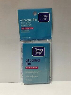 Clean and Clear Oil Control Film Blotting Paper Face
