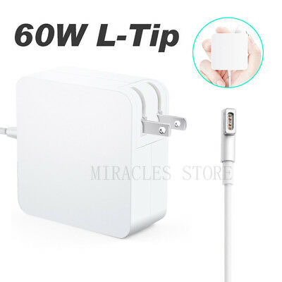 OEM 60W L-Tip AC Power Adapter for Macbook Pro Charger and 13-inch MacBook Pro