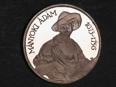 HUNGARY 1977 200 Forint Manyoki Silver Crown Proof - Mtg=5000