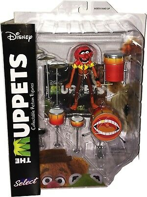MUPPET SHOW Actionfiguren (Muppets Select) Wave 2: ANIMAL with drum kit