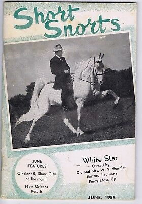 Short Snorts show horse booklet 1955 Shetland fairs sales news