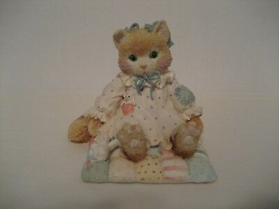 "Calico Kittens-""You'll Always Be Close To My Heart""-1992-Figurine"