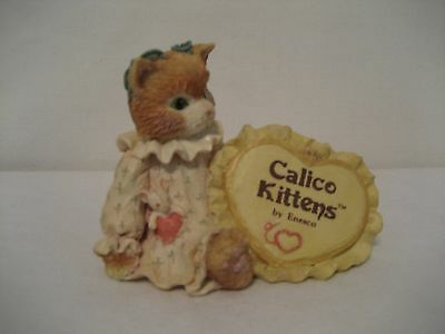 Calico Kittens by Enesco-1992- Resin Figurine