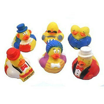 Mini Circus Rubber Ducks,Carnival Greatest Showman 6 different Ducks in Disguise