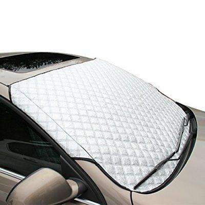 Car Windscreen Frost Cover, FREESOO Snow Cover Windshield Ice Cover Dust Sun Sha