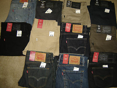Levis 511 Jeans New Men Levi's Slim Fit Retail $70