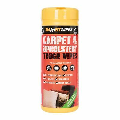 Smaart Carpet & Upholstery Tough Wipes 40pk