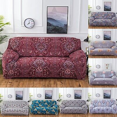 Elastic Chair Cover Sofa Covers 1 2 3 4 Seater Protector Couch Cover Slipcover