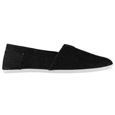 Giorgio Traditional Tai-Chi / Kung Fu Canvas Shoes - Black Denim