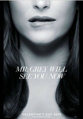 50 Shades Of Grey 27x40 Double Sided Rolled Movie Poster. Anastasia
