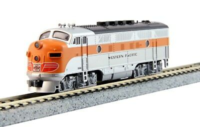 Kato 1761202DCC N Scale Western Pacific #802A, EMD F3A for the California Zephyr