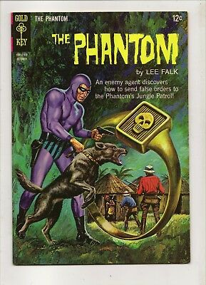 Gold Key The Phantom by Lee Falk No 14 October 1965