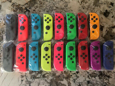 Nintendo Switch Joy Con Single Neon Blue Red Yellow Green Pink Gray Odyssey NEW