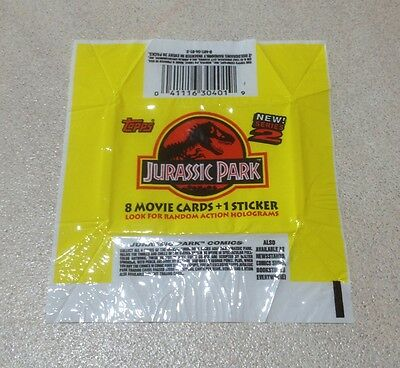 1993 Topps Jurassic Park Series 2 - Wrapper