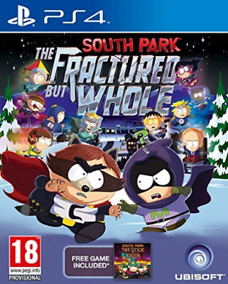 Ps4-South Park: The Fractured But Whole Ps4 - Inc Stick Of The Truth Dl Game New