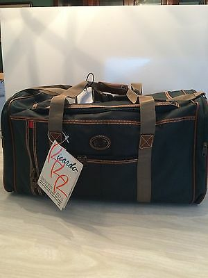"""RICARDO BEVERLY HILLS BEL-AIRE DUFFLE BAG 24"""" Footed Bottom New With Tag"""