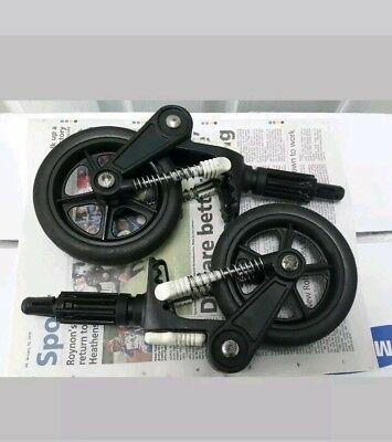 Bugaboo cameleon 1, 2 and frog front wheels. Shows some signs of use
