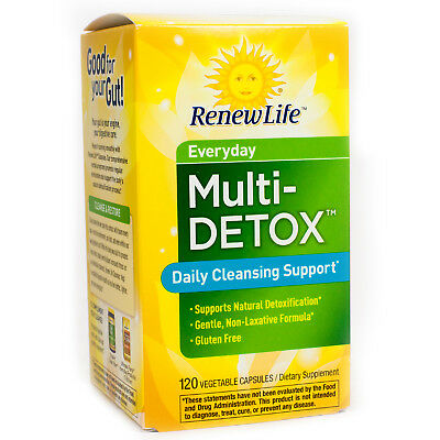 Daily Multi-Cleanse by Renew Life 120 Capsules