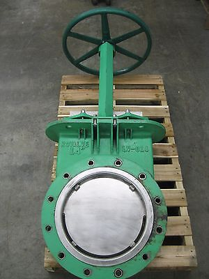 "14"" Rovalve LV-014 Knife Gate Valve CI Body SS Disc Z52 (2232)"