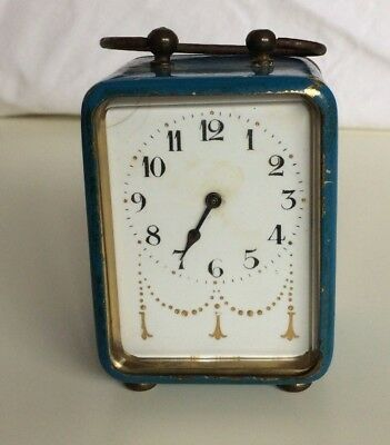 Small Continental Alarm Clock for spares or repairs