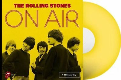 ROLLING STONES 2 LP On Air limited Edition gelbes Vinyl yellow