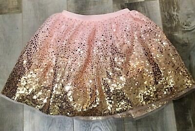 H&M Tulle skirt with sequin Girls Size 6-8