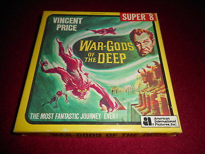 War Gods of the Deep with Vincent Price Super 8 Film
