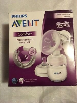 Philips Avent Manual Breast Pump-SCF330/20-NEW Factory Sealed Box