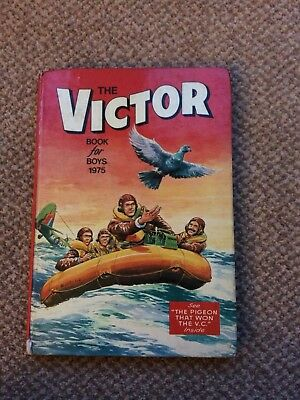The Victor Book For Boys Annual 1975