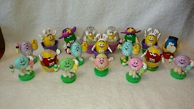 M&M's Lot Of 18 Candy Toppers