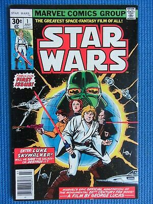 Star Wars # 1 - (Vf-) - 1St Print -Movie Adaptation- Luke Skywalker, Darth Vader