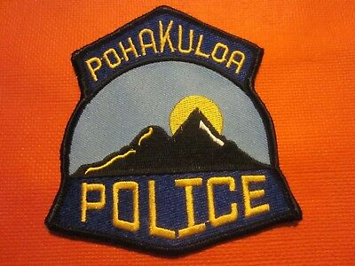 Collectible Hawaii Police Patch, Pohakuloa, New